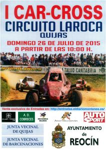 CARTEL CROSS QUIJAS 2015