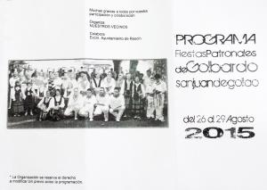 programa de fiestas patronales de San Juan Degollao 2