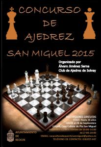 cartel ajedrez