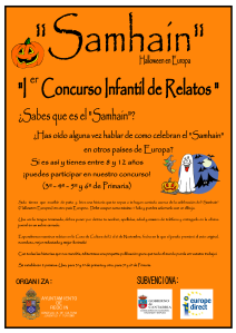 CARTEL CONCURSO INFANTIL RELATOS SAMHAIN