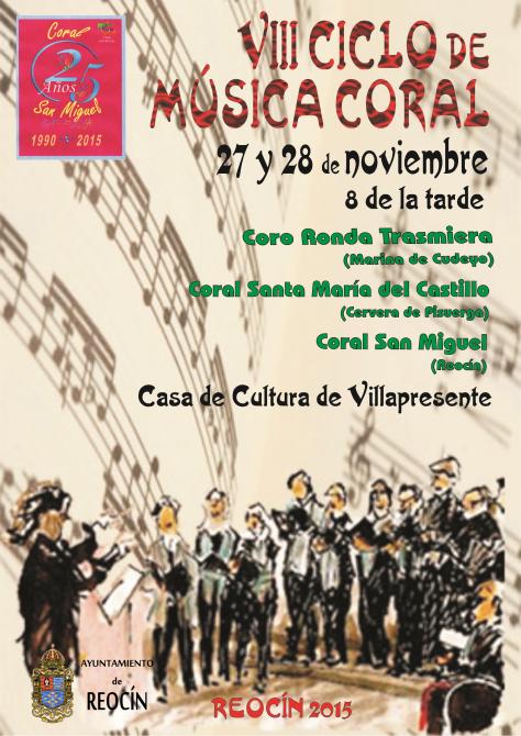cartel 8 ciclo de musica coral 2015