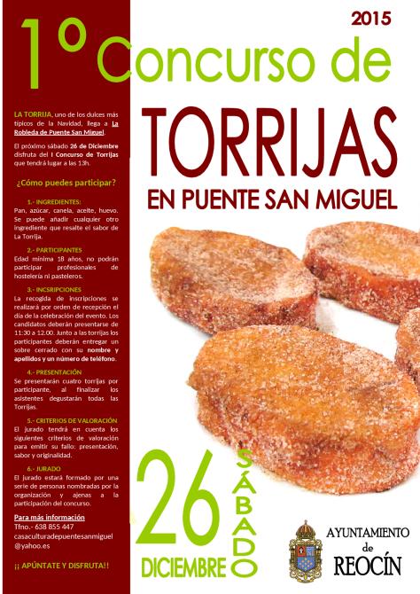 cartel torrijas