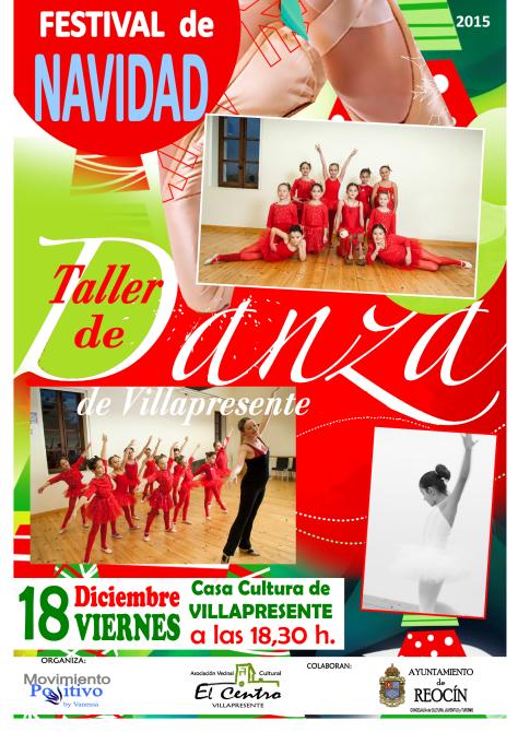 FESTIVAL DE NAVIDAD 2015 TALLER DE DANZA VILLAPRESENTE
