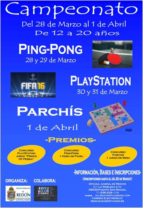 campeonato ping-pong playstation parchis