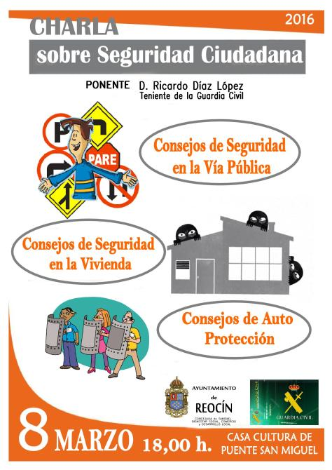 CARTEL CHARLA PREVENCION SEGURIDAD 2016