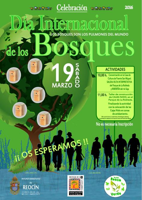 CARTEL DIA MUNDIAL DE LOS BOSQUES 2016