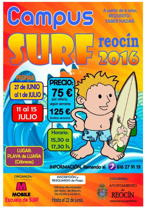 CARTEL CAMPUS SURF 2016