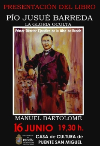 cartel presentacion libro Pio Jusue Barreda 16junio