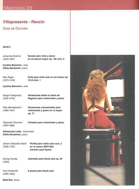 PROGRAMA MUSICAL 20 DE JULIO EN VILLAPRESENTE