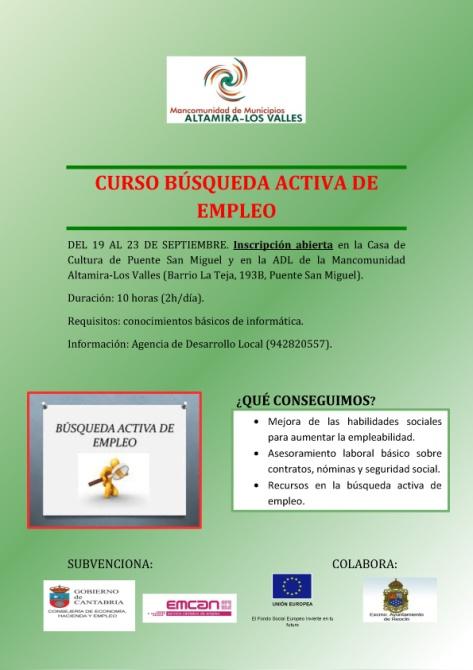 CARTEL TALLER BÚSQUEDA ACTIVA EMPLEOOK