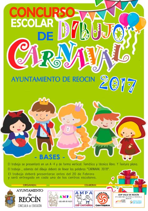 cartel-concurso-escolar-de-dibujo-de-carnaval-2017