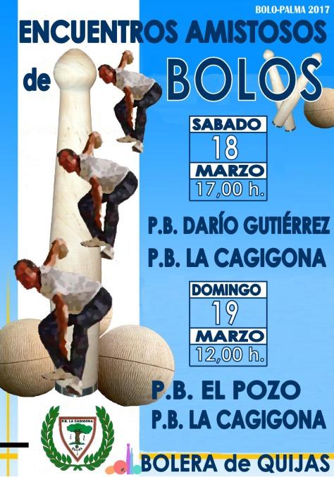 ENCUENTRO AMISTOSO DE BOLOS MARZO2017