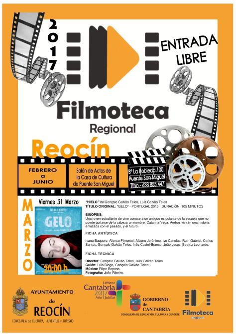 PROYECCIÓN FILMOTECA 31 DE MARZO