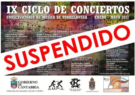 SUSPENDIDO CONCIERTO QUINTETO KUNST 1ABRIL2017