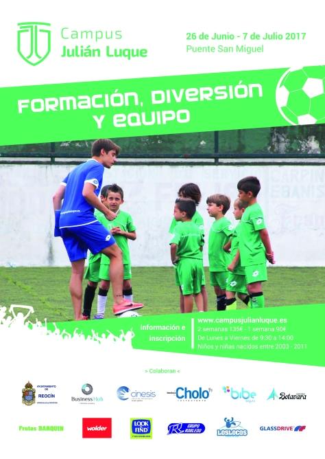 Cartel Campus De Futbol