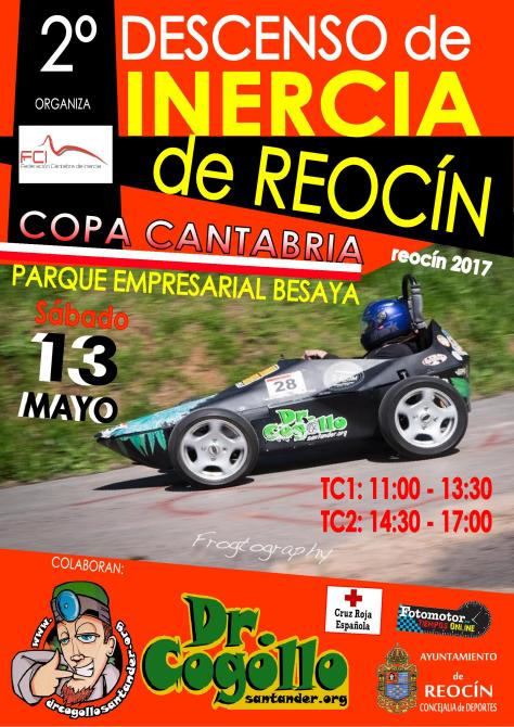 CARTEL 2º DESCENSO DE REOCIN 2017
