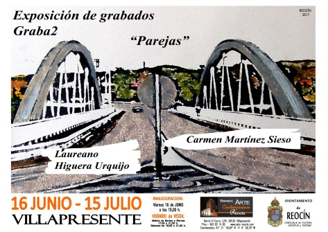 cartel EXPOSICION DE GRABADOS JUNIO-JULIO2017