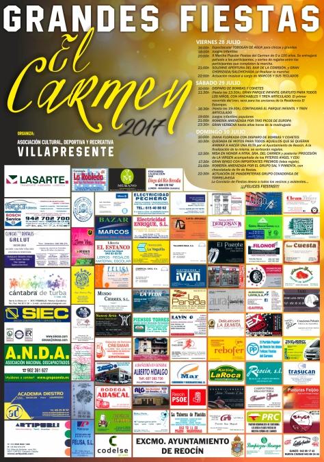 Cartel El Carmen 2017 (2)