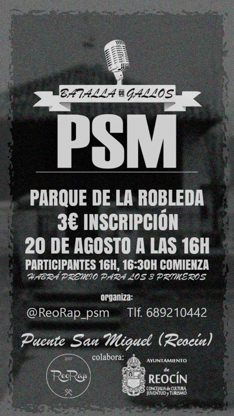 Cartel PSM Robleda Battle (1)