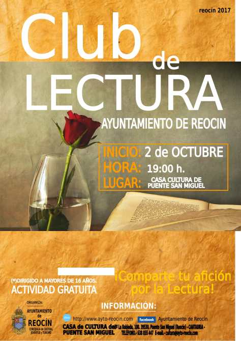CARTEL CLUB DE LECTURA 2017-1
