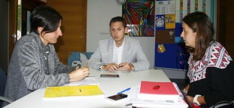 Sara Peláez Ruth Calderón y Mario Iglesias. Centro de Día de la Mancomunidad Altamira-Los Valles en Vispieres (2)