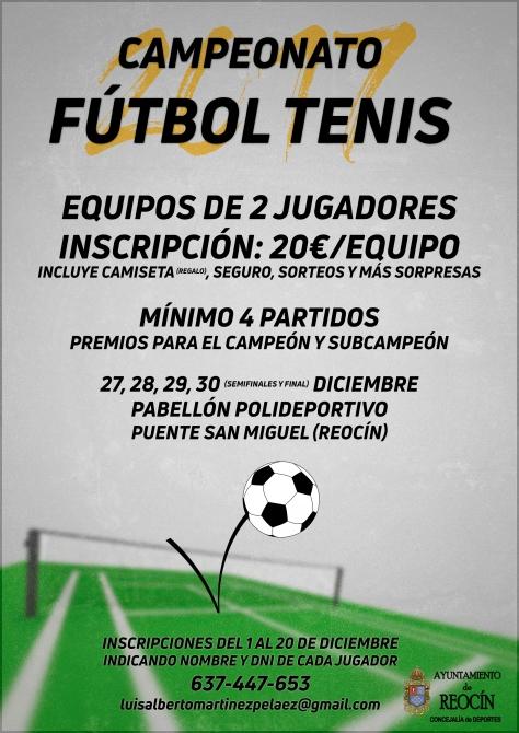 Campeonato Fútbol Tenis con logo