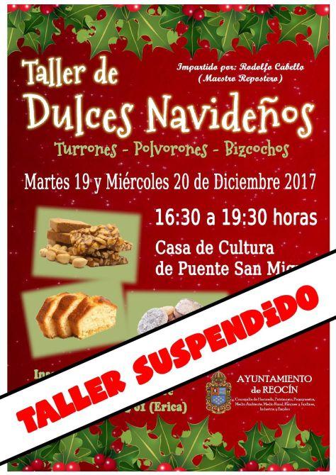 taller dulces navideños suspendidos