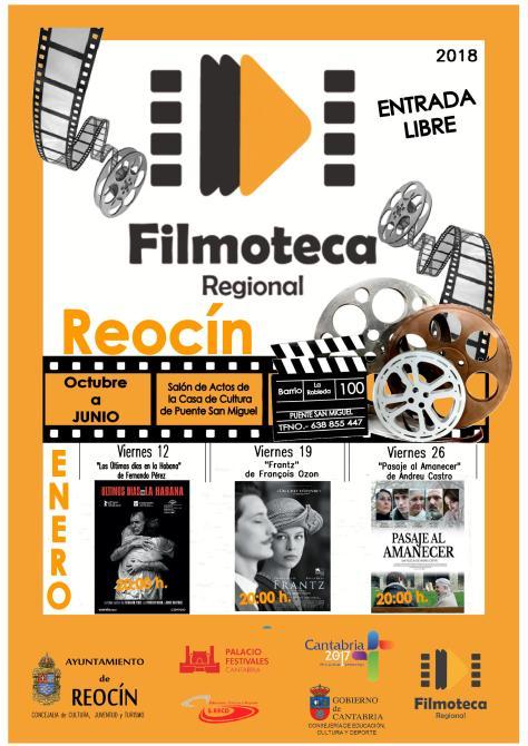 CARTEL PROYECCIÓN FILMOTECA ENERO 2018