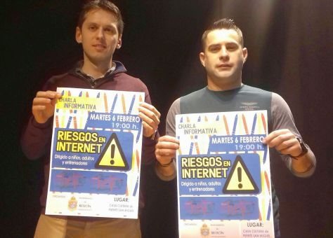 Mario Iglesias y Eduardo Zunzunegui - Charla Riesgos en Internet