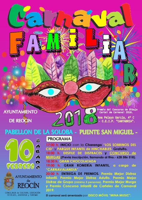 cartel prueba carnaval familiar2018
