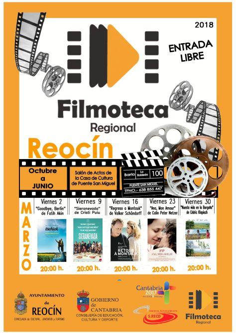 CARTEL PROYECCIÓN FILMOTECA MARZO 2018