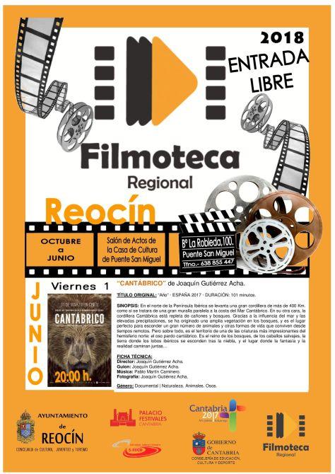 CARTEL PROYECCIÓN FILMOTECA JUNIO 2018