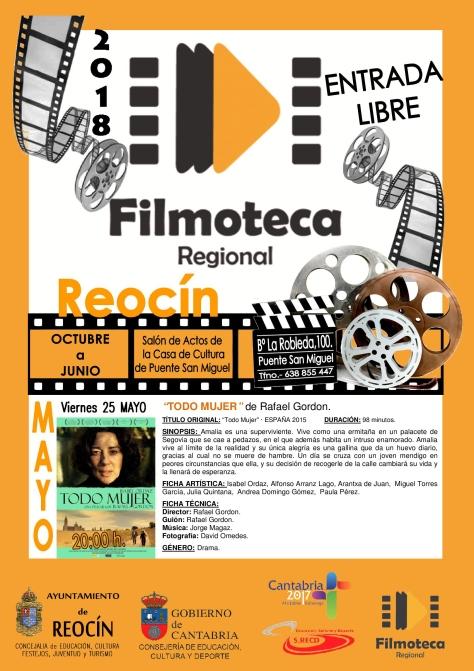 proyeccion filmoteca 25 mayo 18
