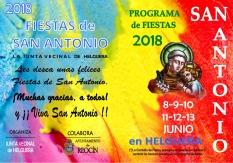 FOLLETO DE MANO FIESTAS SAN ANTONIO20181