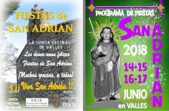 FOLLETO SAN ADRIAN 20181