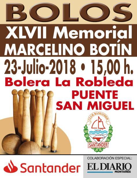 BOLOS MEMORIAL BOTIN 2018