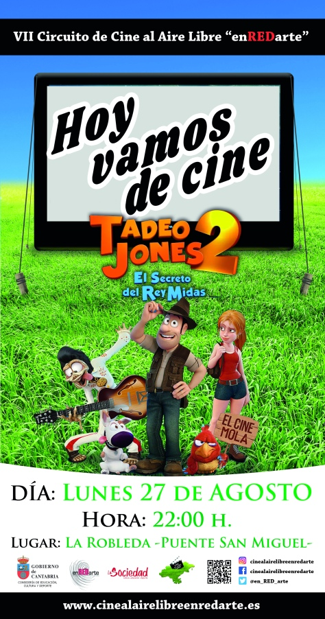 cartel definitivo cine de verano 2018 TADEO final