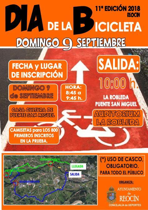 cartel dia de la bicicleta 2018