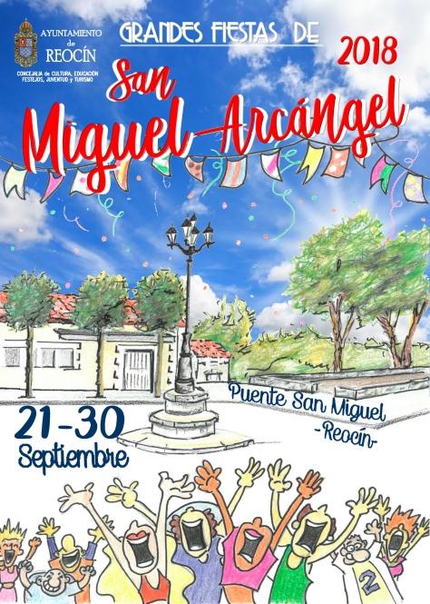 CARTEL FINAL FIESTAS DE SAN MIGUEL 2018