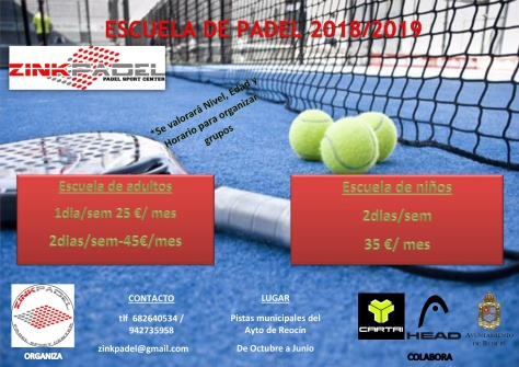 club padel zink 18-19-001