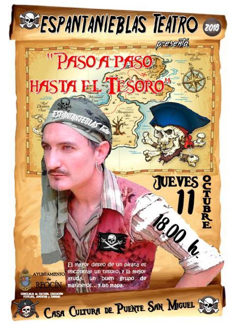 cartel espantanieblas teatro 11 octubre 2018