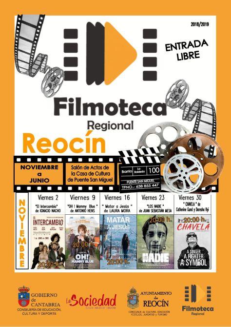 cartel filmoteca regional noviembre 2018