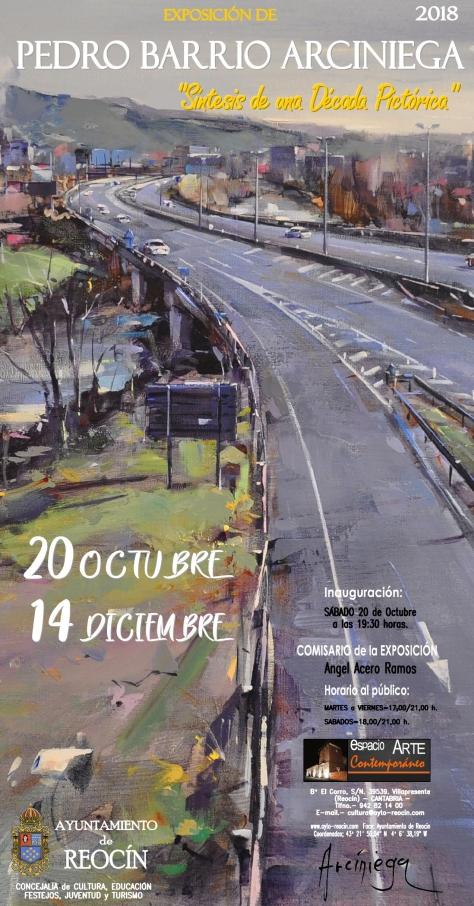 cartel FINALexpo pedro barrio 2018