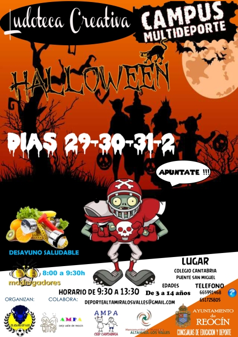 CARTEL HALLOWEN ALTERNATIVA 2018