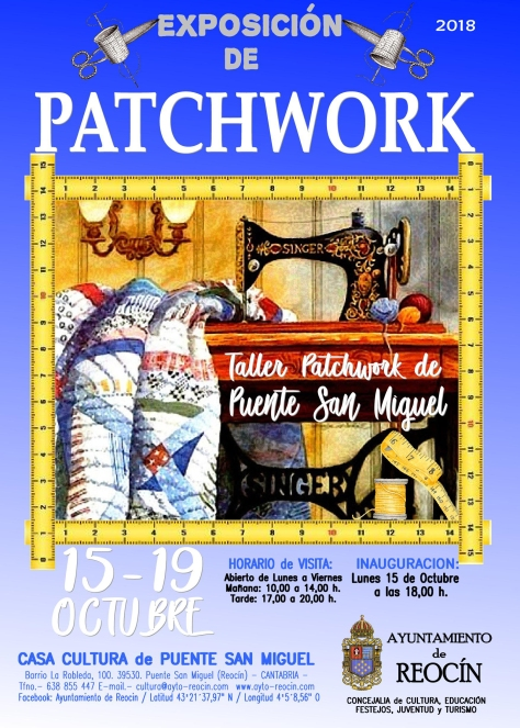 CARTEL PATCHWORK 2018