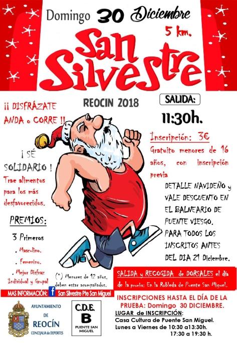 CARTEL BUENO SAN SILVESTRE 2018