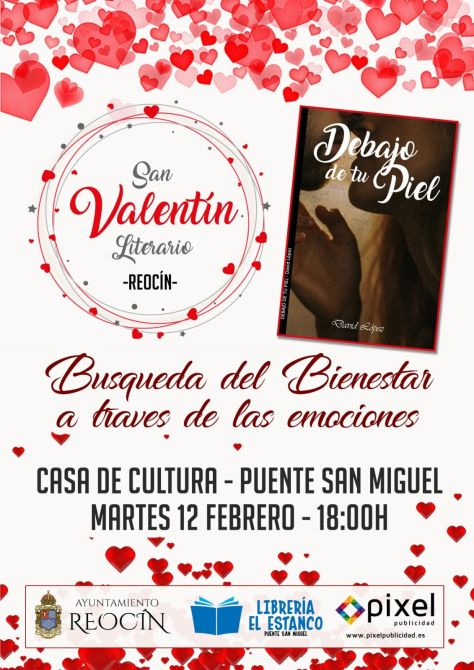 CARTEL SAN VALENTIN LITERARIO 12 FEBRERO