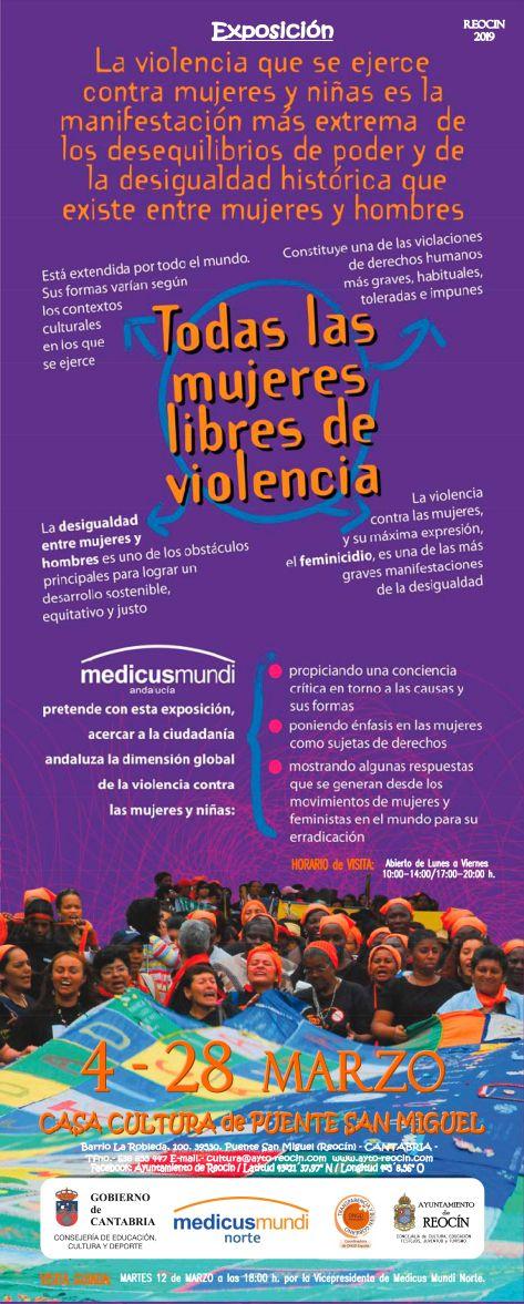 cartel medicus mundi expo 4-28 marzo