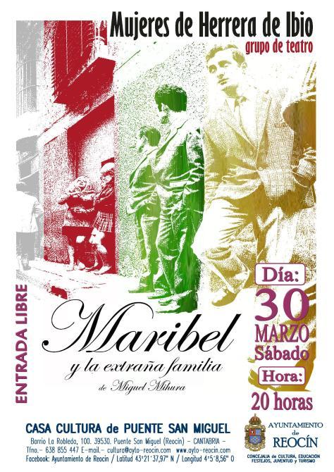 cartel obra mujeres de ibio 30 de marzo
