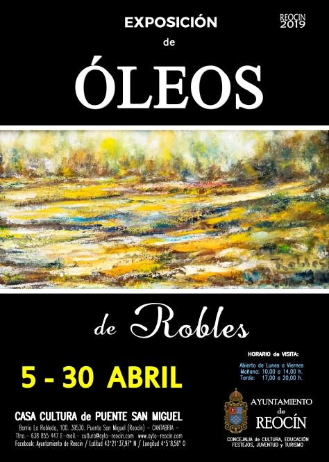 cartel expo robles 5-30 abril